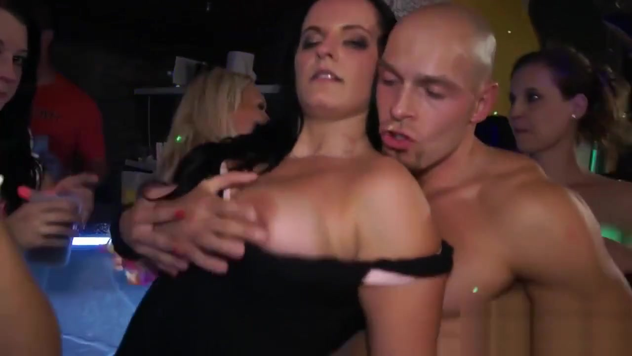 Kinky Orgy Action In The Club ful length gay porn