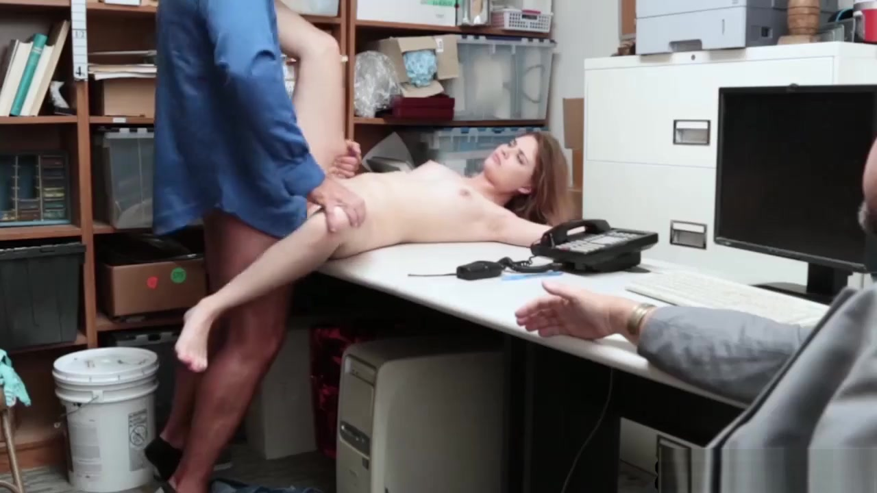 Petite Teen Thief Busted And Fucked By A Security Guard Free Porn Six