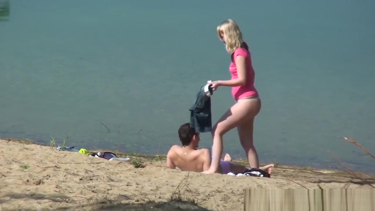 Public Beach Suck And Fuck Caught On Camera Teen and busty MILF in lesbian adventure