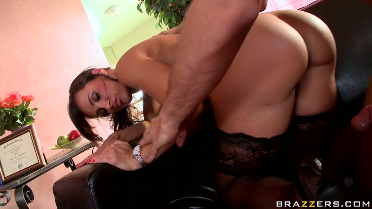 Sexy xxx video Horny brunette milf part1 by jackass