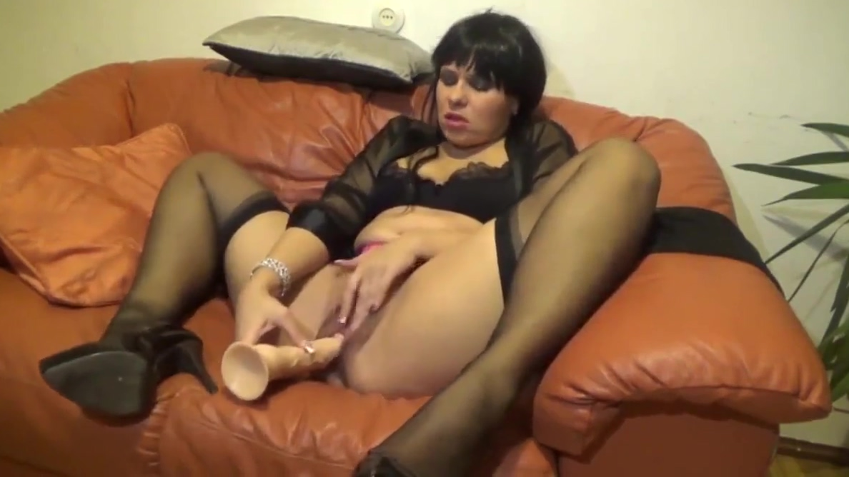 Horny brunette milf fucked from all angles