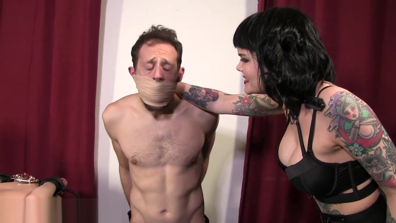 Husband and Wife Gagged with Rags and Tape