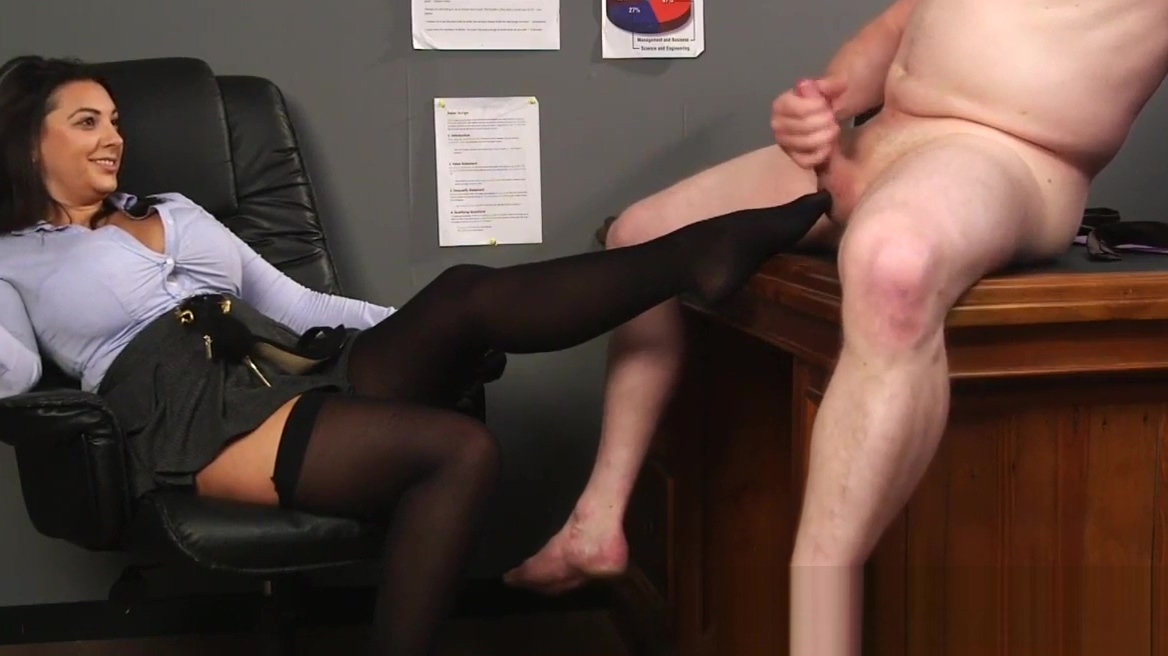Chubby busty cfnm boss Wife cumswith finger in her ass