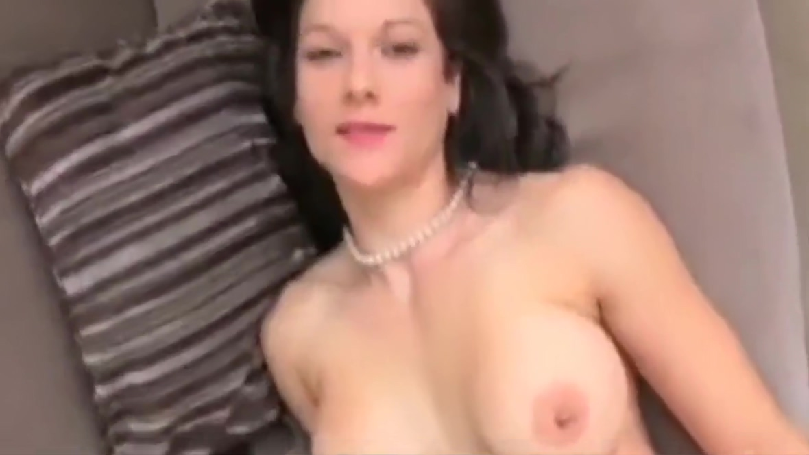 Young Busty MILF Takes Hot Creampie On Business Trip