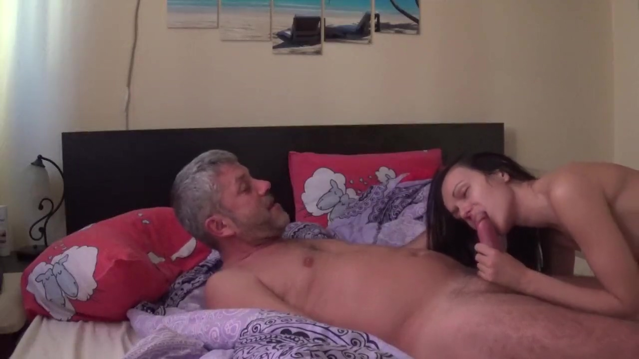 Young lady fuck with older guy nice ass college girl