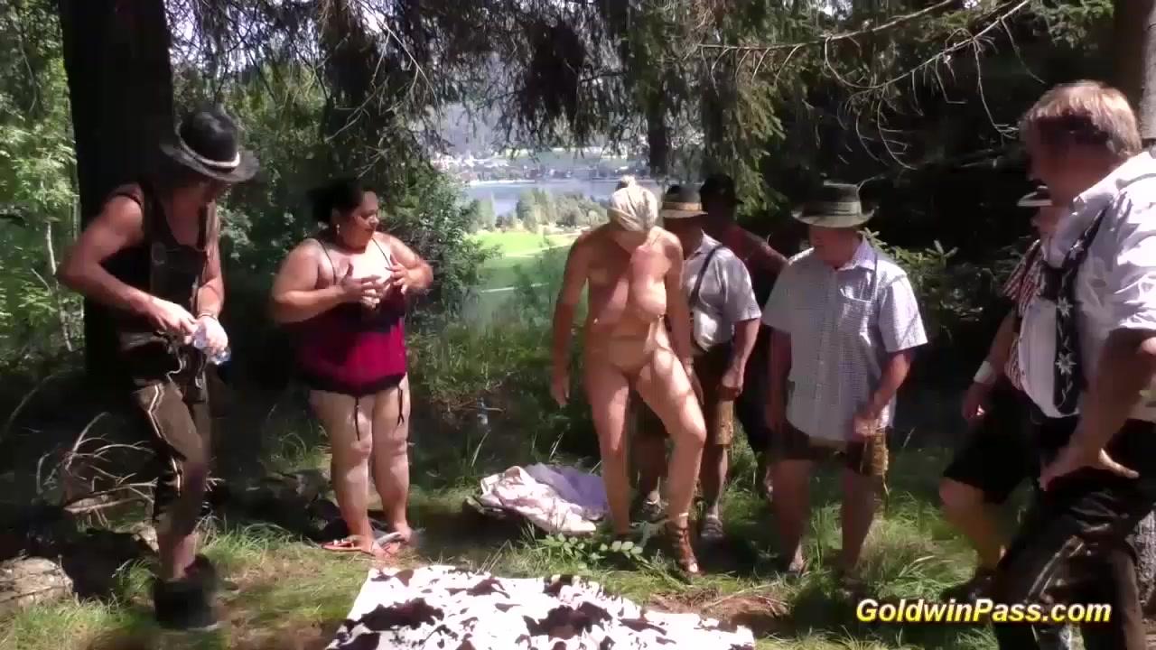 Excellent porn Vintage hairy blonde nudes