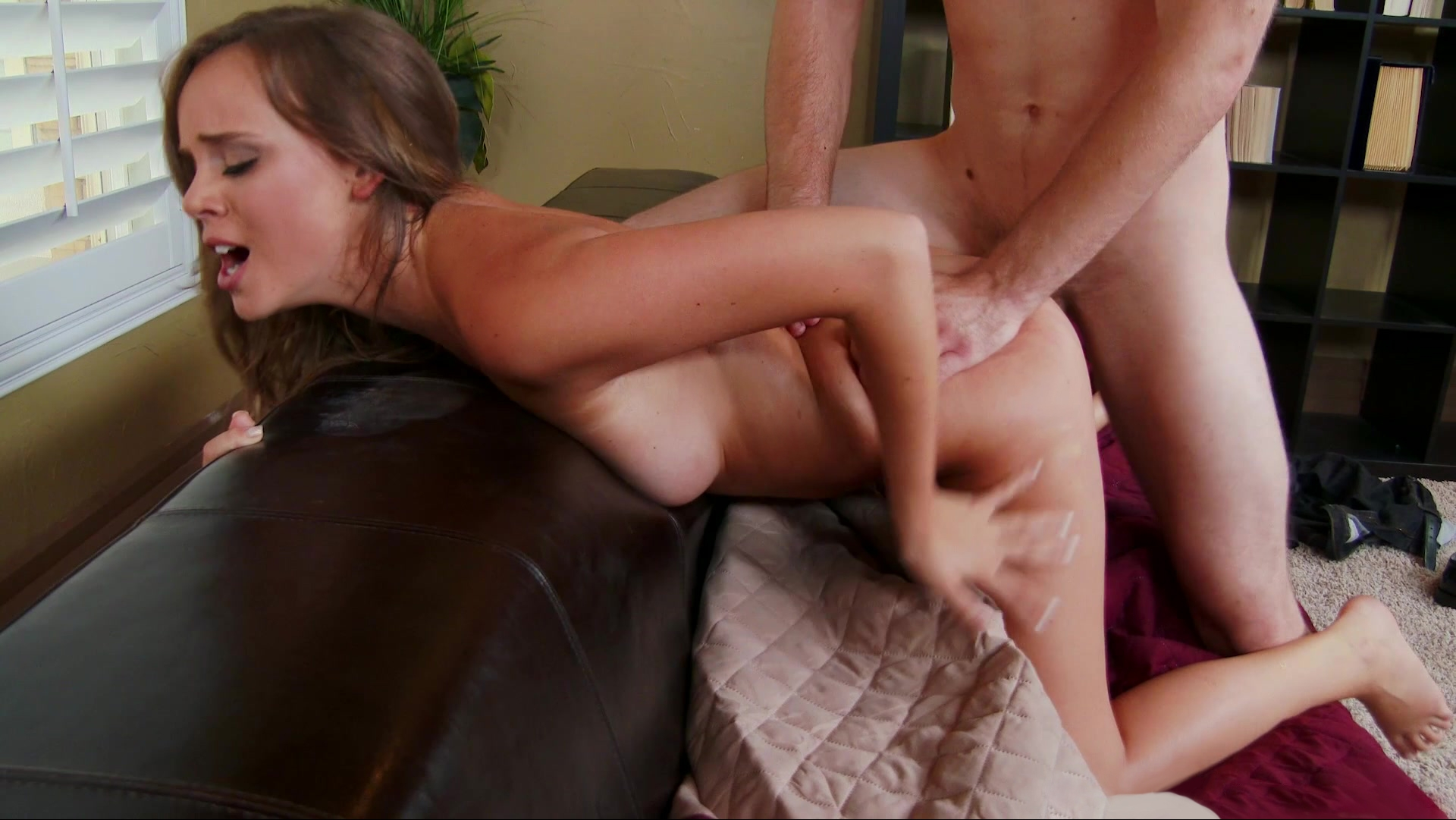 Naughty book worm Alexis Adams mom dominated by son porn video