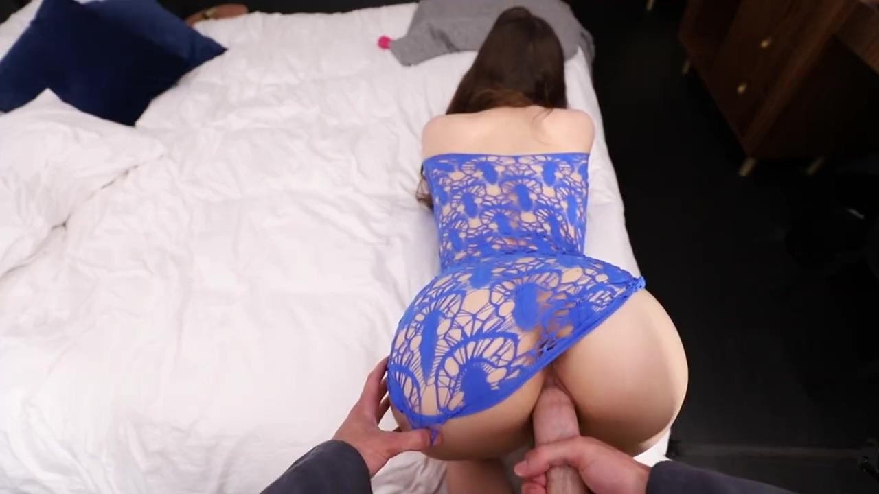 Teen With Massive Ass is Woken for Oiled POV Sex La fresa brawley ca