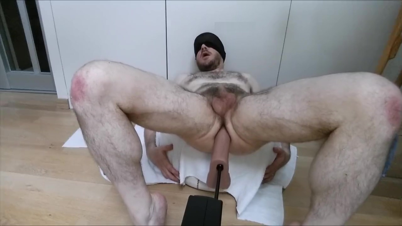 Hard ass fuck for moaning str8 guy by sex machine, a2m makes him cum Sexy tenage boobs