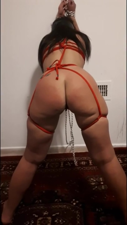 Israeli Slave Bound, Hard Fingered, Anal Plug, Marked, POVs young and the old porno
