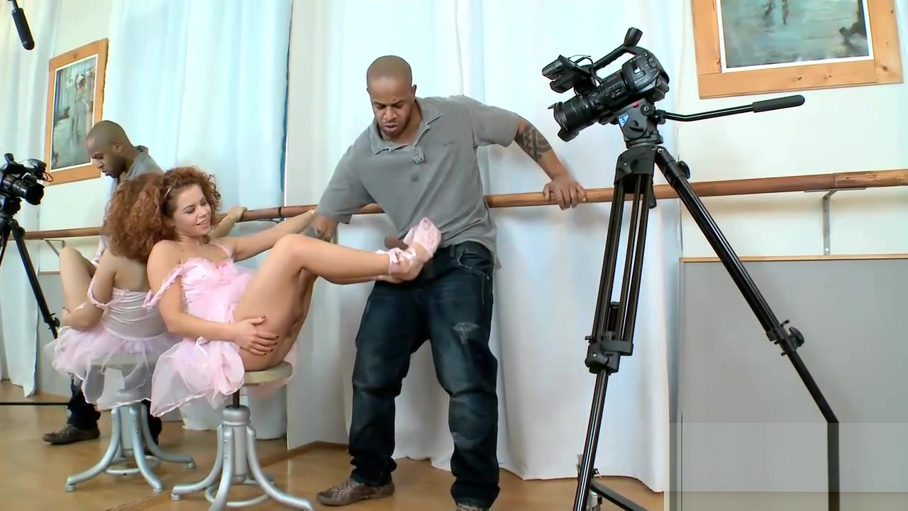 Hot Sunny uses feet on a BBC breast implant massage techniques