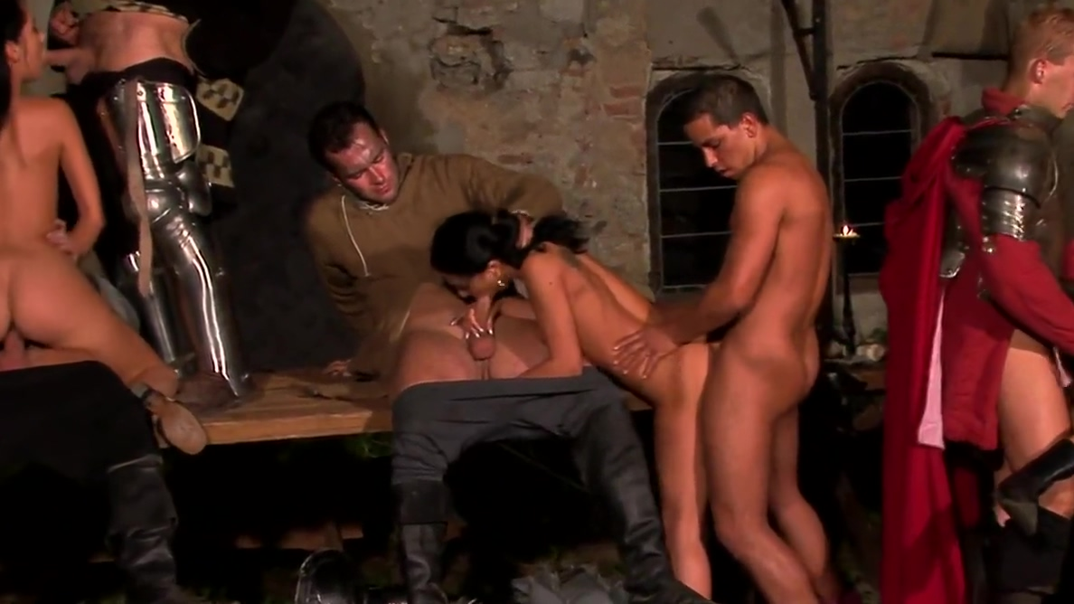 Medieval orgy Gay boy love