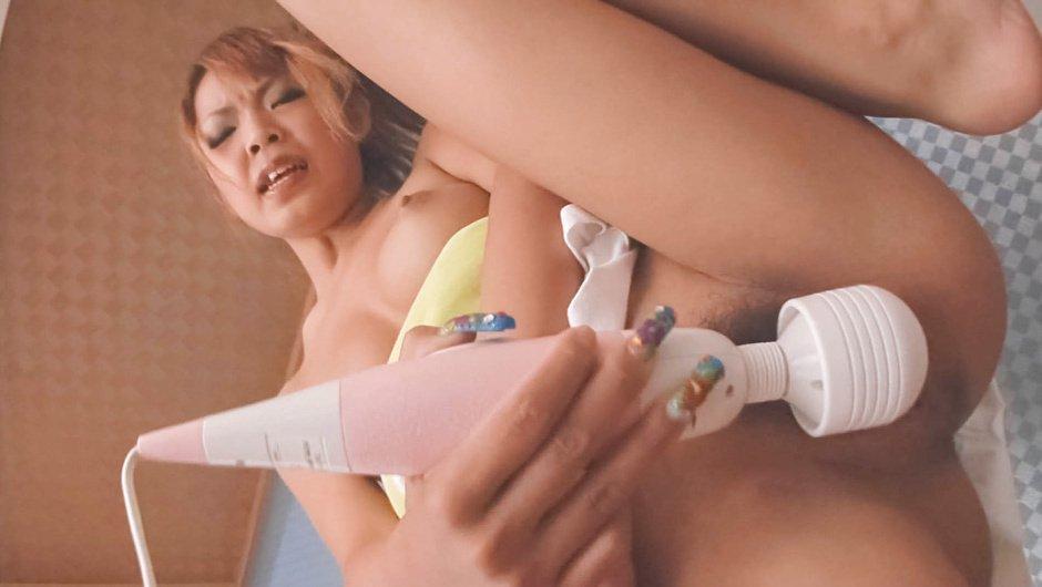 Exotic Japanese chick Chihiro Kobayashi in Horny JAV uncensored Masturbation clip