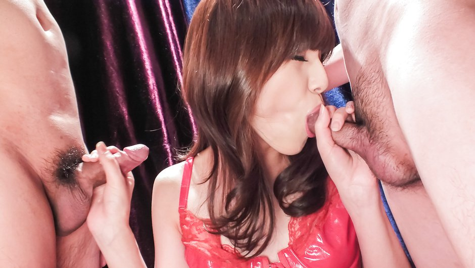 Crazy Japanese model Kanako Iioka in Amazing JAV uncensored Cumshots movie Hookups vapors cigarette