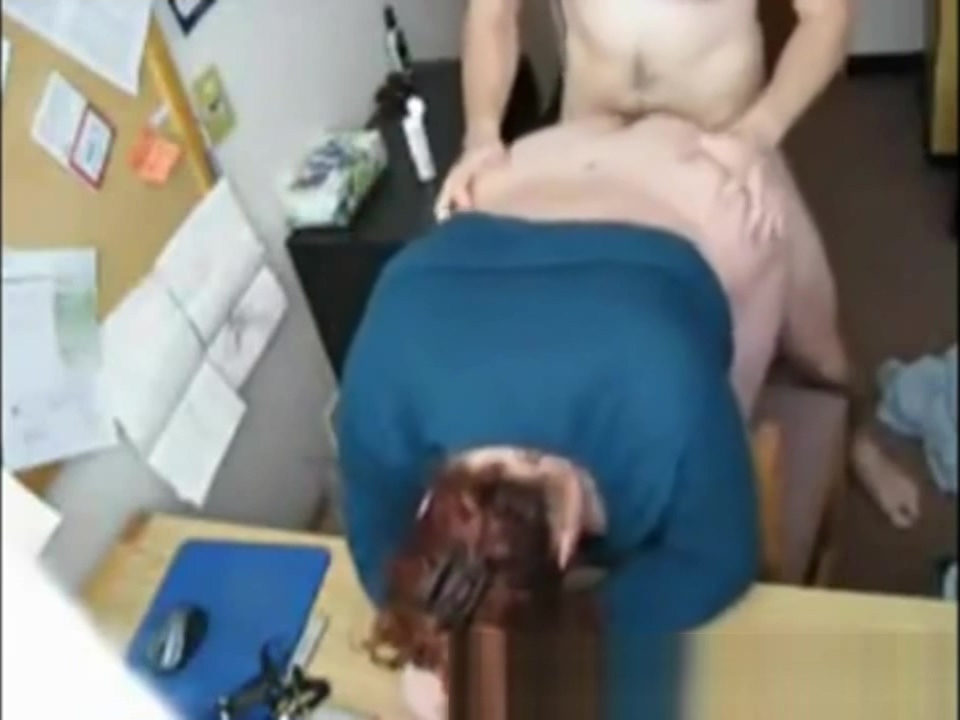 Real amateur secretary fuck on table cum porn tits free