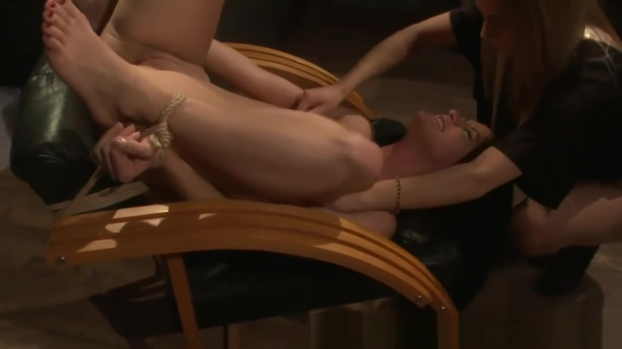 LEZDOM sub and domina sixtynine on chair Black girls masterbating porn