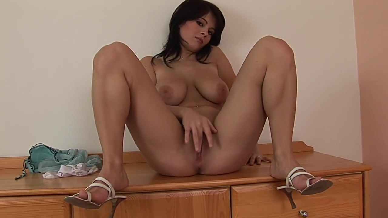 Amazingly hot brunette Anya - CzechSuperStars changing room sex video