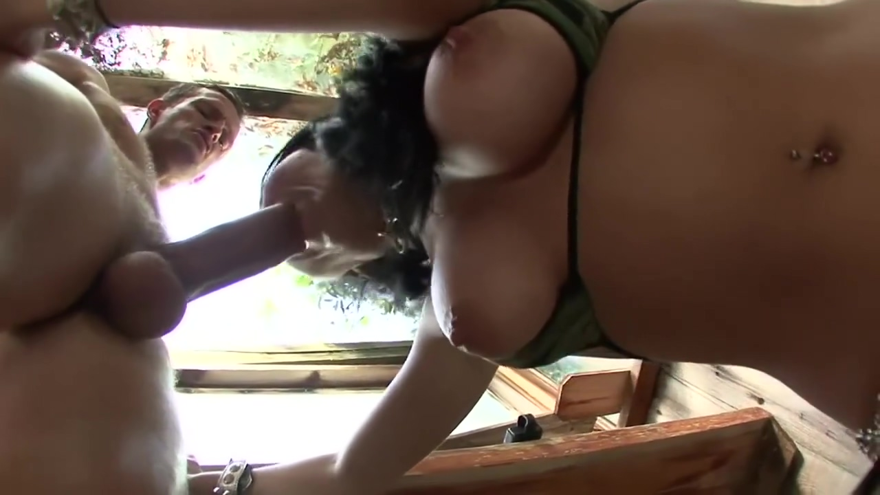 Busty brunette peeing on guy before sex Rossy Kiss