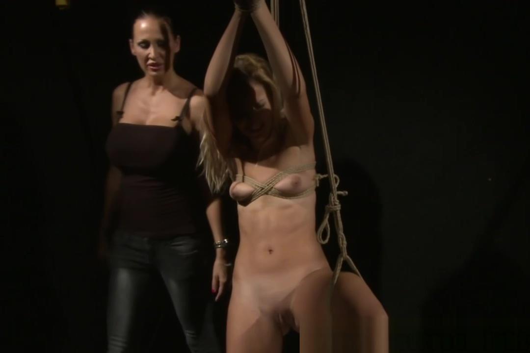 Harsh busty LEZDOM domina drilling sub Joanna vs Kati N