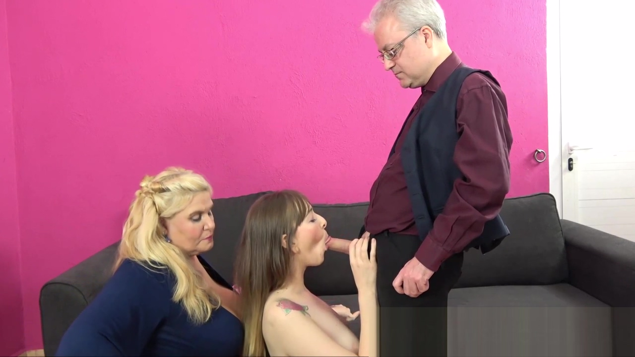 Family Threesome with the old Butler (Musa Libertina and Denise Martin) scooby doo porn tube