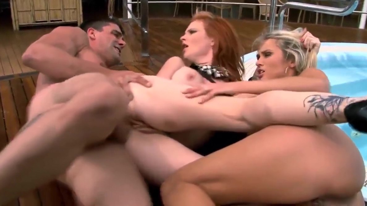 Horny Threesome on Boat ava devine in shemale threesome with carmen jay 3