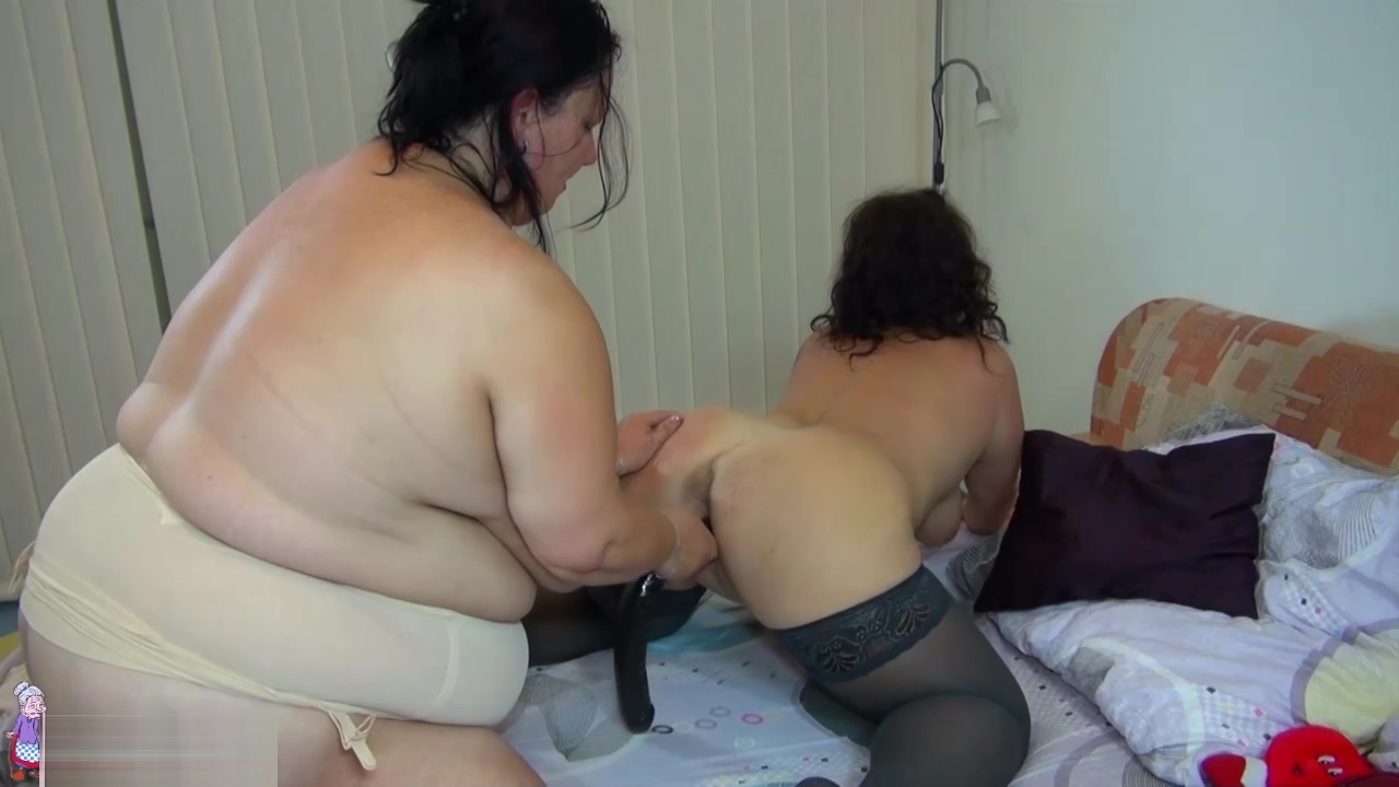 Chubby granny with big tits and her girlfriend fuck Hot fuck koriean beauties boobs
