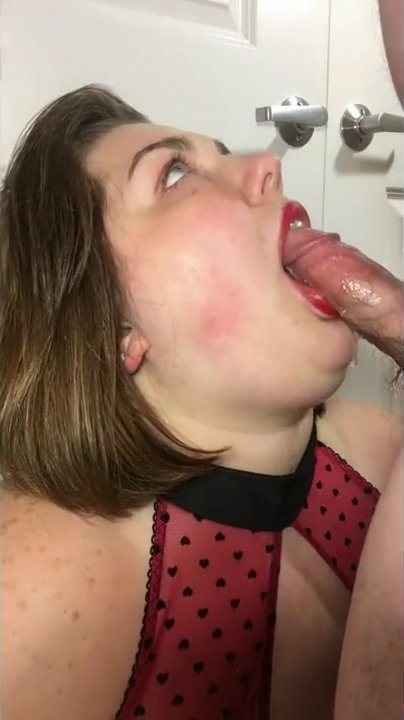 BBW swallows cock and receives facial shortly after chunk up tha deuce