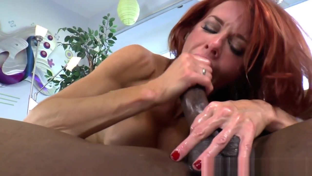 Redhead mistress pegs and gives nice rimjob